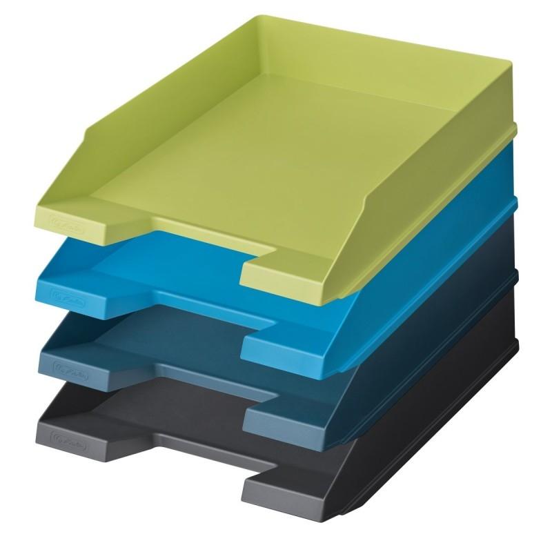 Szuflada na dokumenty Greenline - niebieski ciemny