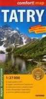 Tatry mapa turystyczna 1:27 000