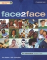 Face2face pre-intermediate students book + CD Redston Chris, Cunningham Gillie
