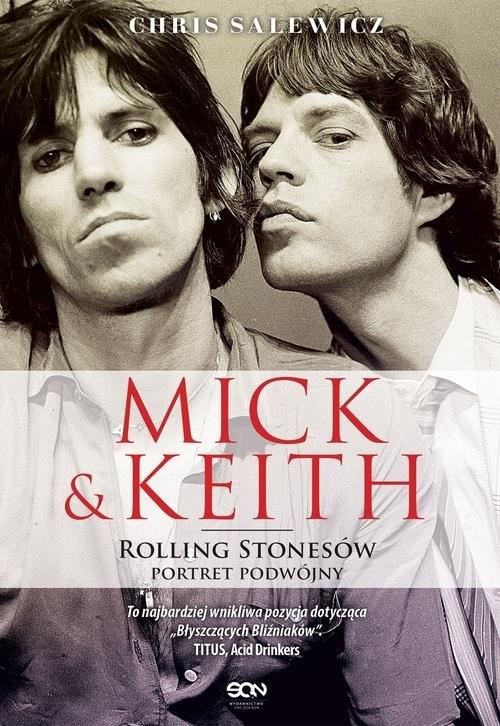 Mick i Keith Rolling Stonesów portret podwójny Salewicz Chris