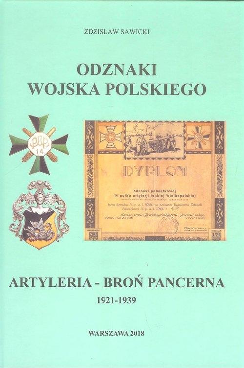 Odznaki Wojska Polskiego 1921-1939 Artyleria - Broń Pancerna Sawicki Zdzisław