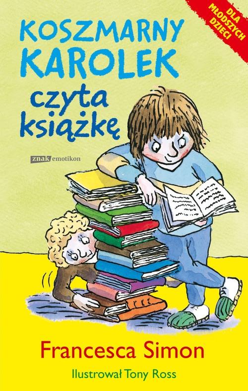 Koszmarny Karolek czyta książkę Simon Francesca