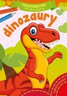 Maluszkowe malowanie - Dinozaury