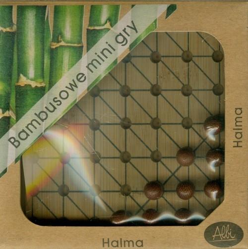 Bambusowe mini gry Halma