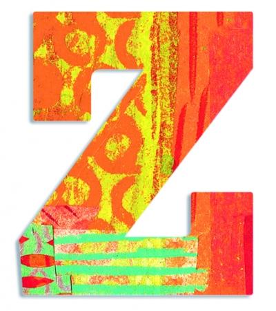 Z - literka Paw do przyklejenia (DD04835)