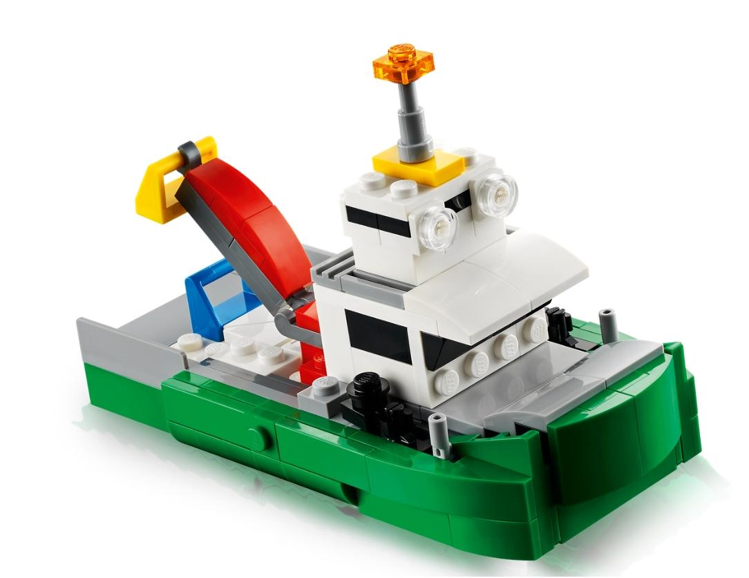 Lego Creator: Laweta z wyścigówkami (31113)