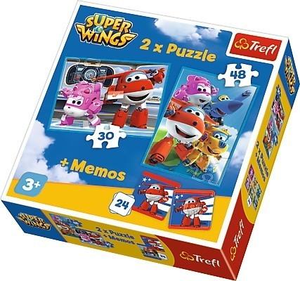Puzzle 2w1 Podniebni bohaterowie (90635)