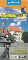 Kazimierz Dolny Plan miasta 1:10 000