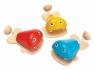 Kastaniety rybki (PLTO-6435)mix kolorów