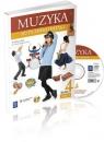 Muzyka Nuty, smyki i patyki 4 Podręcznik z płytą CD Część 1