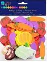 Naklejki z pianki Warzywa 60 szt