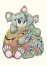 Karnet A118 B6 + koperta Koala