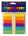 Patyczki kreatywne kolorowe 50 szt.
