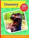 Dinozaury książeczka z plakatem i 100 naklejek