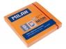 Karteczki neonowe Milan 75x75 mm pomarańczowe, 80 sztuk
