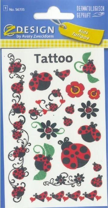 Tatuaże - Biedronki