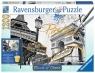 1200 elementów Paryż Puzzle do malowania (199358)