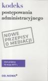 Kodeks postępowania administ. 16 maja 2017 BR