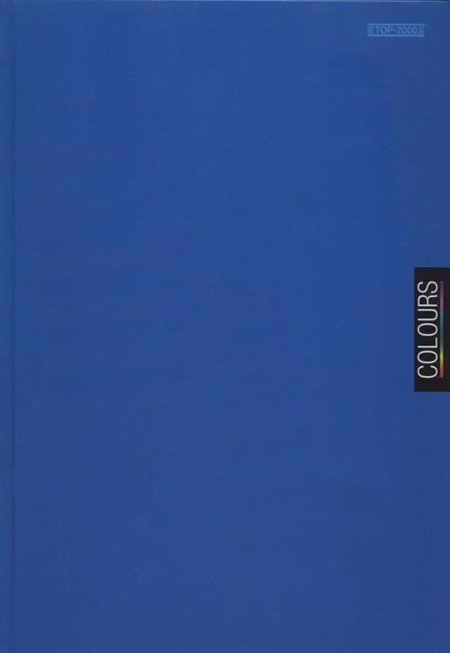 Brulion A4 Top-2000 w kratkę 96 kartek Colours