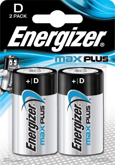 Bateria Energizer Max Plus D LR20 (EN-423358)