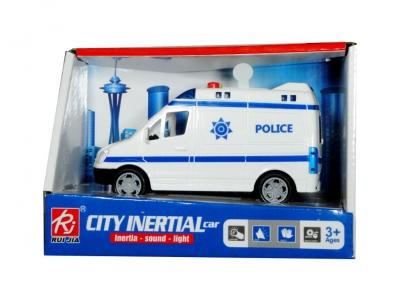 Auto policja na baterie