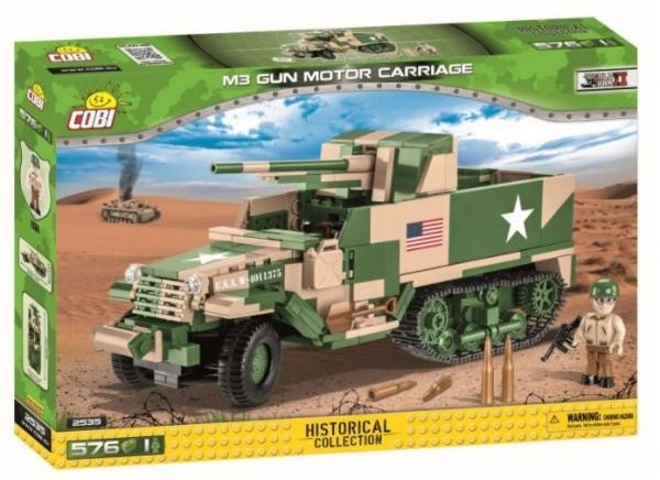 Klocki M3 Gun Motor Carriage (2535)