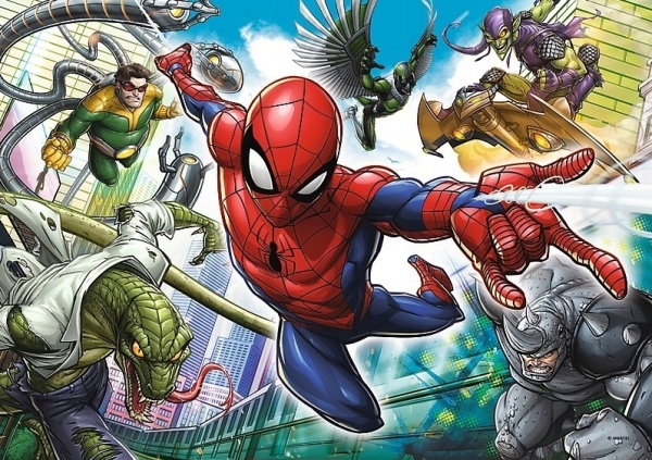 Puzzle 200: Spider-man - Urodzony bohater (13235)