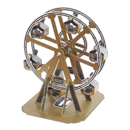 Diabelski młyn / karuzela model do samodzielnego montażu