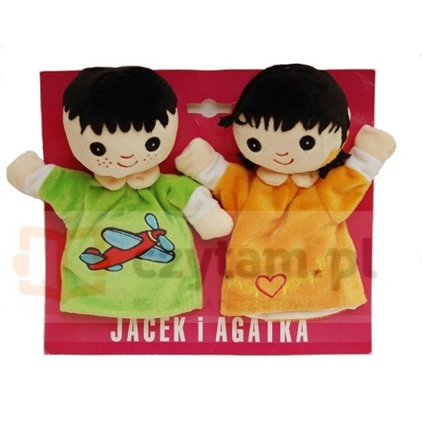 AXIOM Pacynki Jacek i Agatka 22cm (4087)