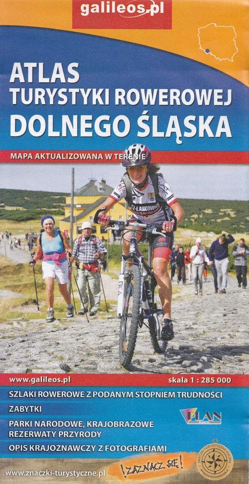 Atlas Turystyki Rowerowej Dolnego Śląska 1:285 000