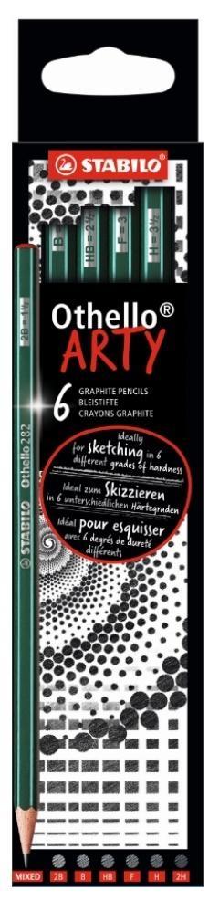 Ołówek Othello Arty mix 6szt STABILO
