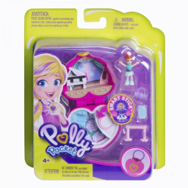 Polly Pocket: Lila baletnica - zestaw kieszonkowy