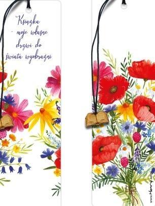 Zakładka - Kwiaty Lata