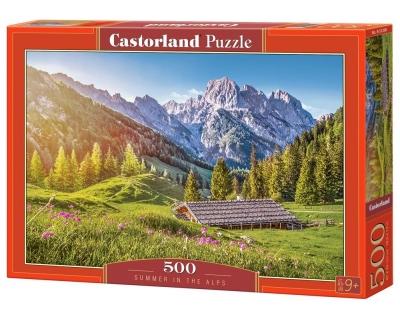 Puzzle 500 el.:Summer in the Alps/ B-53360