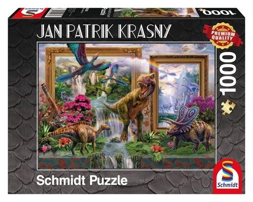 Puzzle Jan Patrik Krasny Dinozaury  1000