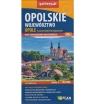 Województwo opolskie. Opole. Plan w nowych granicach. Skala 1:190 000