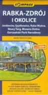 Rabka-Zdrój i okolice mapa turystyczna 1:40 000