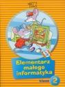 Elementarz małego informatyka 2 Podręcznik z płytą CD