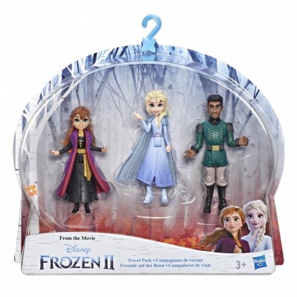 Figurki Kraina Lodu 2 - Mini Zestaw Deluxe Elsa, Anna i Mattia (E5504/E6912)