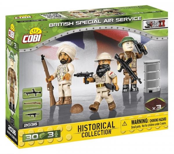 Klocki British Special Air Service (2036)