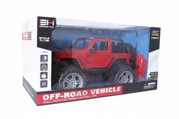 Jeep RC z ładowarką MIX (101361)
