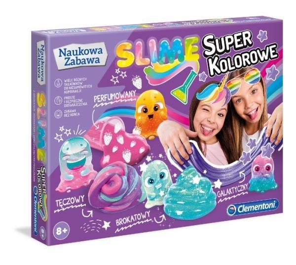 Super kolorowe slime (50636)