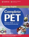 Complete PET Student's Book with answers + CD Heyderman Emma, May Peter