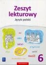 Zeszyt lekturowy. Język polski. Zeszyt ćwiczeń. Klasa 6. Szkoła podstawowa