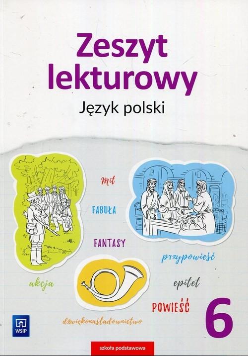 Zeszyt lekturowy. Język polski. Zeszyt ćwiczeń. Klasa 6. Szkoła podstawowa Beata Surdej, Andrzej Surdej