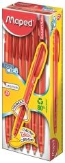 Długopis czerwony 12 sztuk