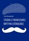 Studia z francuskiej krytyki literackiej