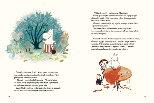 Muminki. Opowieści z Doliny Muminków Alex Haridi, Cecilia Davidson, Filippa Widlund