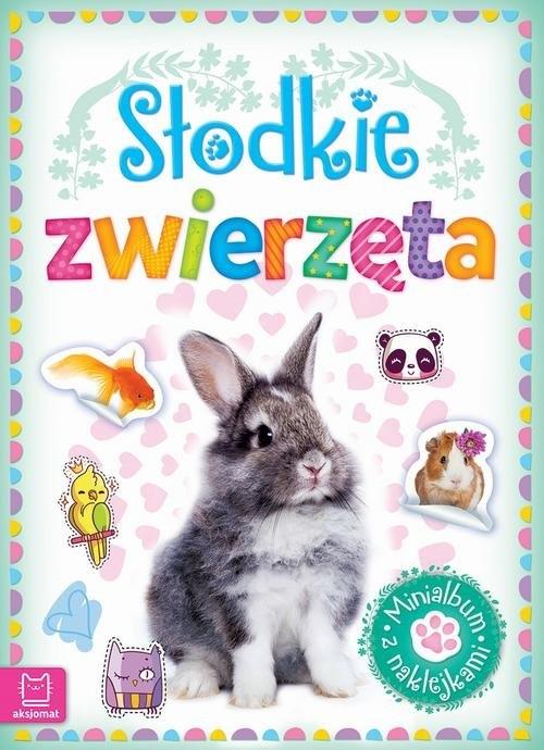 Minialbum z naklejkami Słodkie zwierzęta