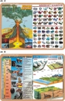 Podkładka edukacyjna. Dzieje geologiczne Ziemi, rzeŹba powie